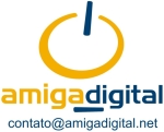 Logo Amiga digital